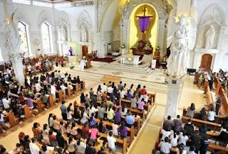 Ilustrasi gereja (foto Antara)