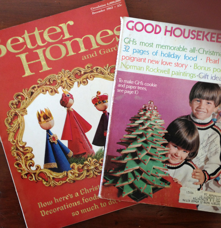 Bhg Magazine Covers: The Copycat Collector: COLLECTION #112: Vintage Christmas