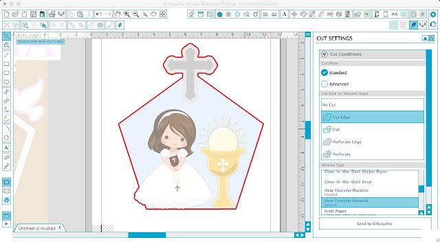 Silhouette Studio, Silhouette tutorial, cotton fabric tutorial
