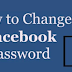 Change My Password On Facebook