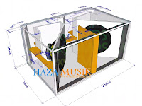 How to design Double subwoofer 18inch model RTS outdor