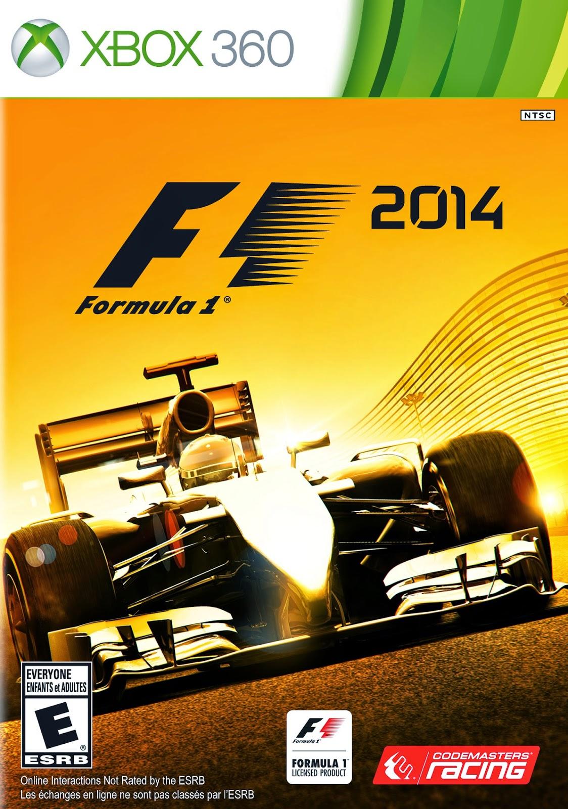 F1 2014 XBOX 360 Descargar