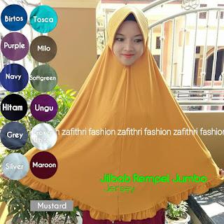 jilbab syar'i osd rempel bahan jersey