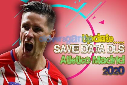 Save data Dream League Soccer Atletico Madrid Season 2020-2021 Unlimited Coin