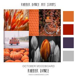 Rubber Dance October Moodboard
