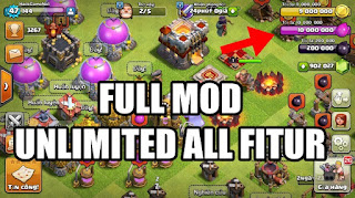 Download Clash of Clans (COC) MOD APK Unlimited Gems & Coin Terbaru 2020