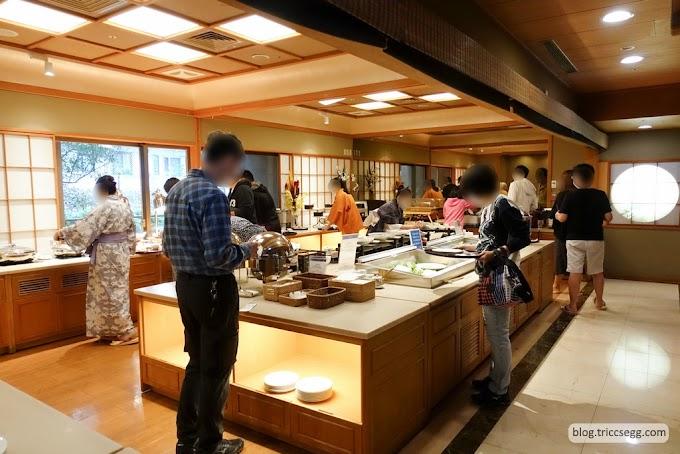 台北北投區 日勝生加賀屋早餐-享用一頓精緻舒適的早餐。