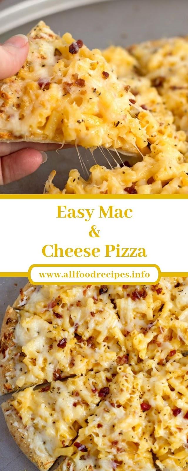 Easy Mac & Cheese Pizza