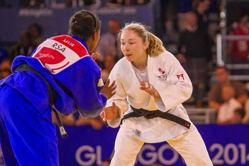 Judoka Lisa Kearney medals in Glasgow | real girl sport