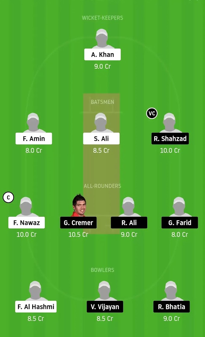 DPS vs TAD Dream11 Team|Best Team for Small League and GL Tips