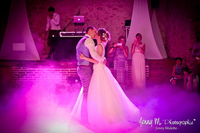 photo ouverture du bal mariage, salle de la chaumerie rochetrejoux, dj sonorisat yon