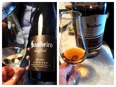 provas de vinhos da Quinta de Soalheiro