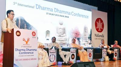 5th edition of Dharma-Dhamma conference held in Rajgir, Bihar