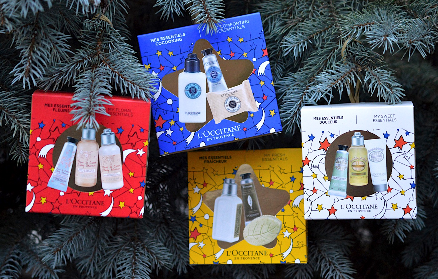 L'Occitane Christmas Ornaments