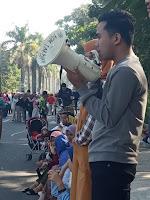 Koin Keadilan Untuk Baiq Nuril Dari HMI Cabang Mataram
