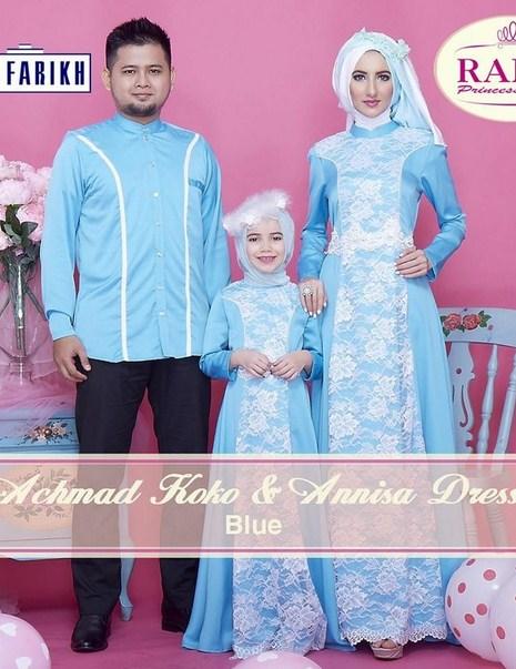 Baju Kebaya Muslim Anak Hijab Style