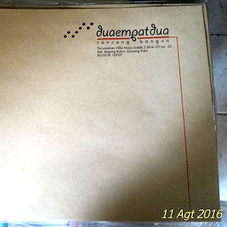 Amplop Samson Coklat Ukuran Folio