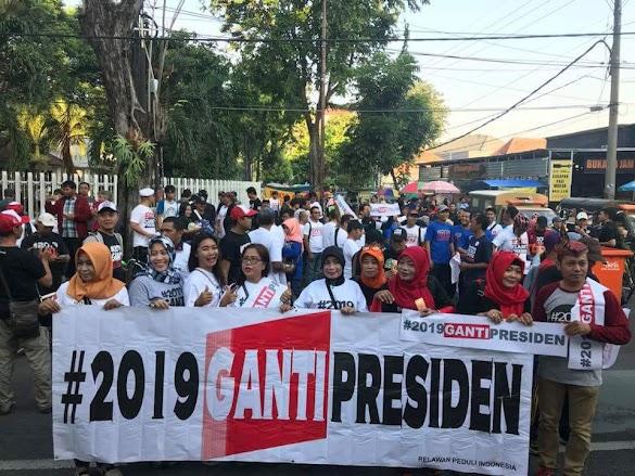 Analisa Mengejutkan Kalahnya #2019TetapJokowi Lawan #2019GantiPresiden