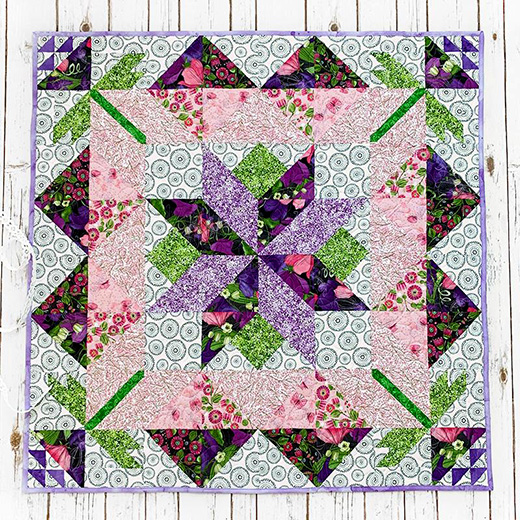 A Day in May Spring Mystery Quilt Designed by Lindsey Weight for Fort Worth Fabric Studio