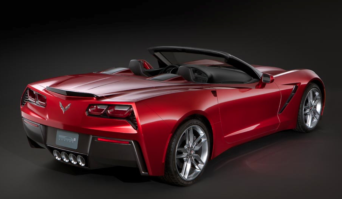 are these actual photo 39 s of the brand new 2014 chevrolet corvette convertible. Black Bedroom Furniture Sets. Home Design Ideas