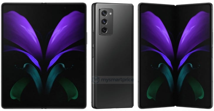 Samsung Galaxy Z Fold 2 5G photos leaked