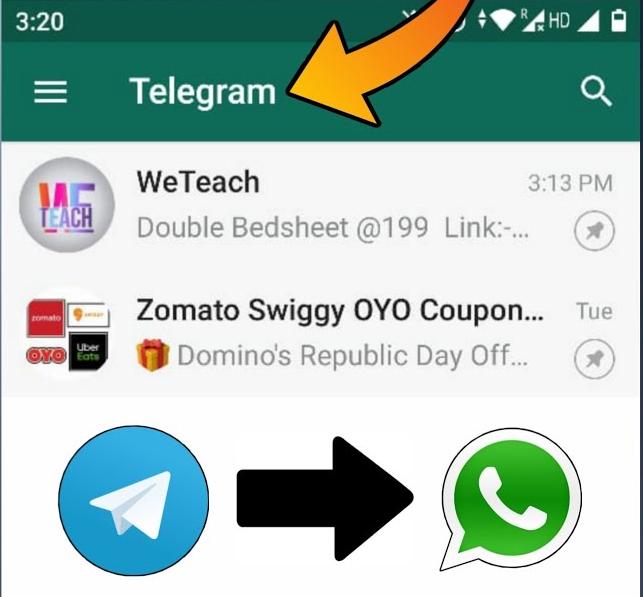 Telegram - Whatsapp Theme