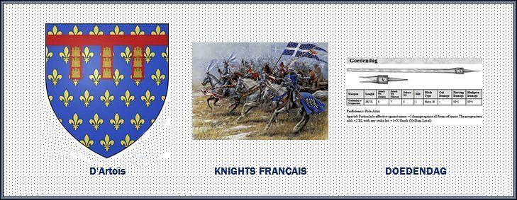 """La bataille des éperons d'or 11juillet 1302 11 juillet 1302 : mort de Robert II, comte d'Artois, tué à la bataille de Courtrai dite des Eperons d'or  Battle of Courtrai: Flemish Infantry Defeats French Knights at """"Battle of the Golden Spurs"""""""