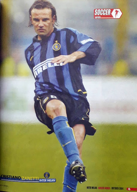 CRISTIANO ZANETTI OF INTER MILAN