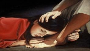Maria Maddalena ai piedi di Gesù