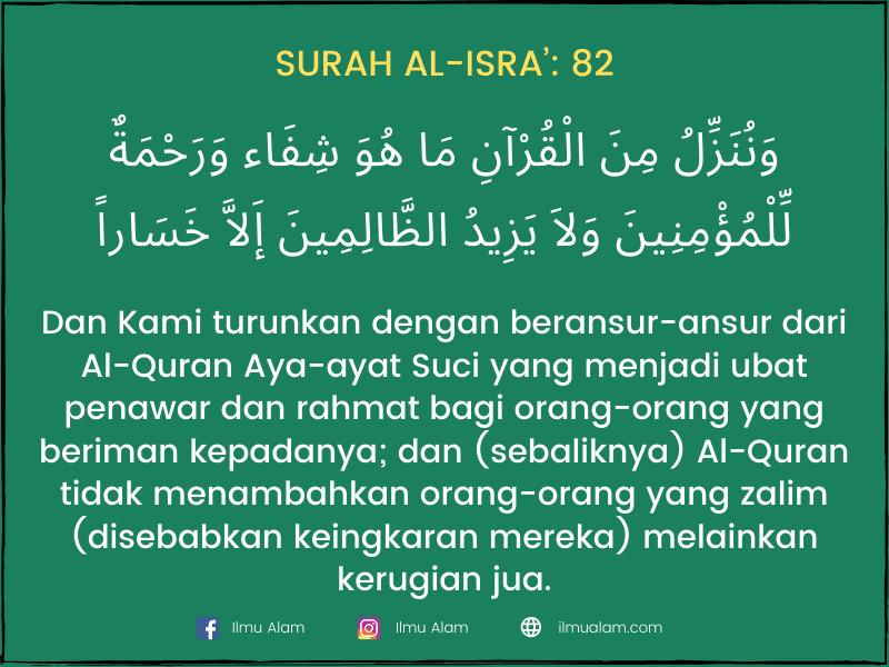 ayat-ayat syifa dalam quran