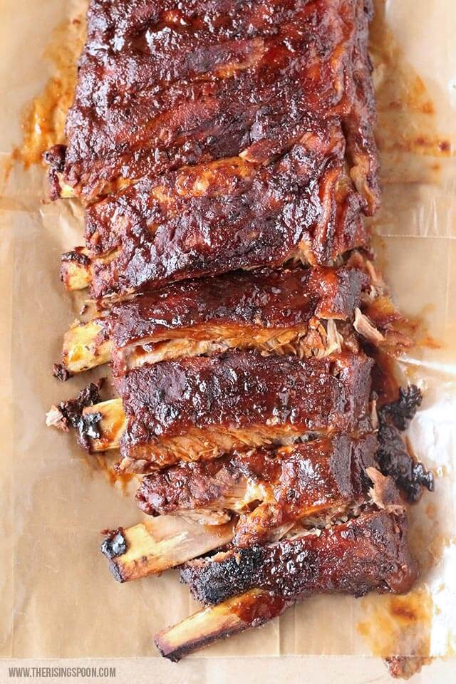 Easy Crock-Pot BBQ Ribs Made in the Slow Cooker (VIDEO) | The Rising Spoon