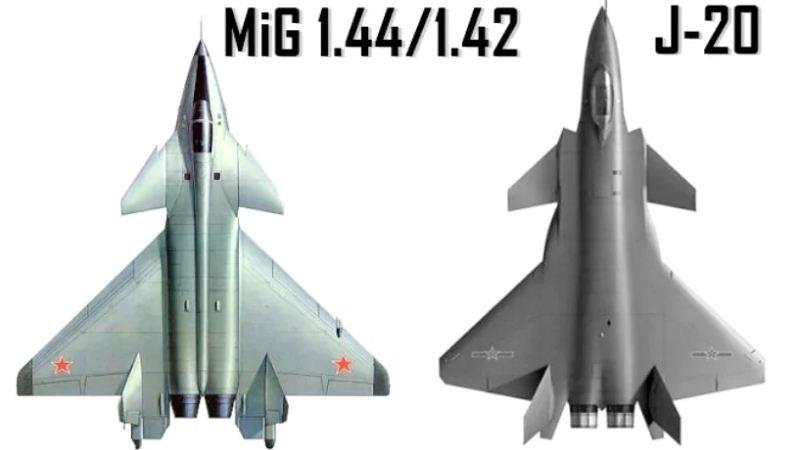 MiG 1.44 dan J-20