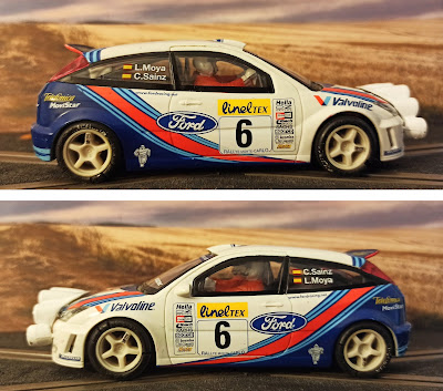Ford Focus WRC Rally Montecarlo Tecnitoys