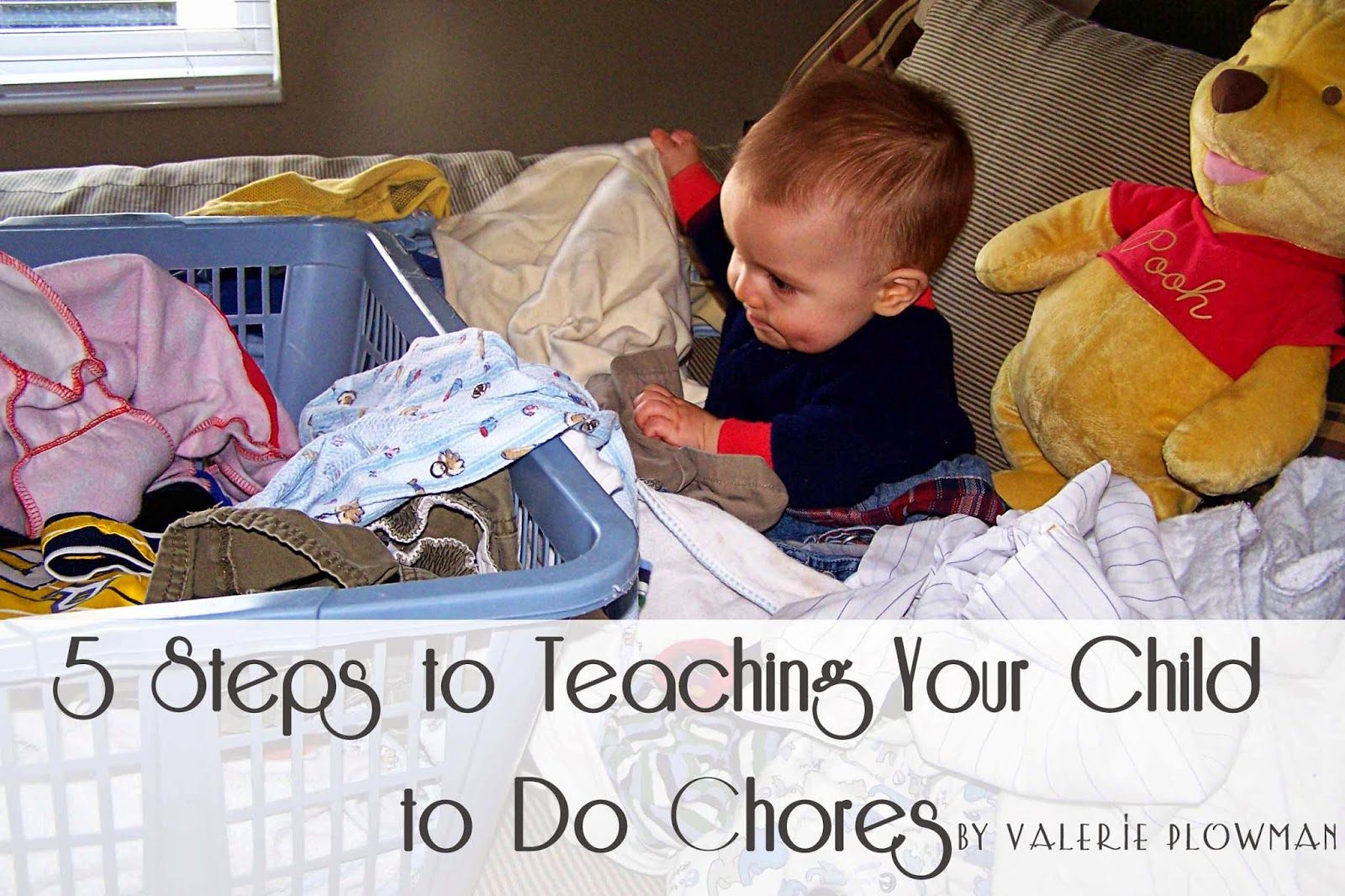 5 Steps to Teaching Your Child to do Chores