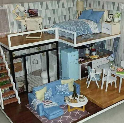 Desain ruangan rumah sederhana