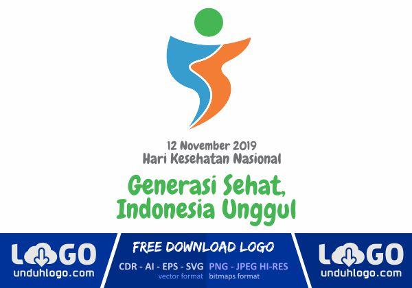 Logo Hari Kesehatan Nasional 2019