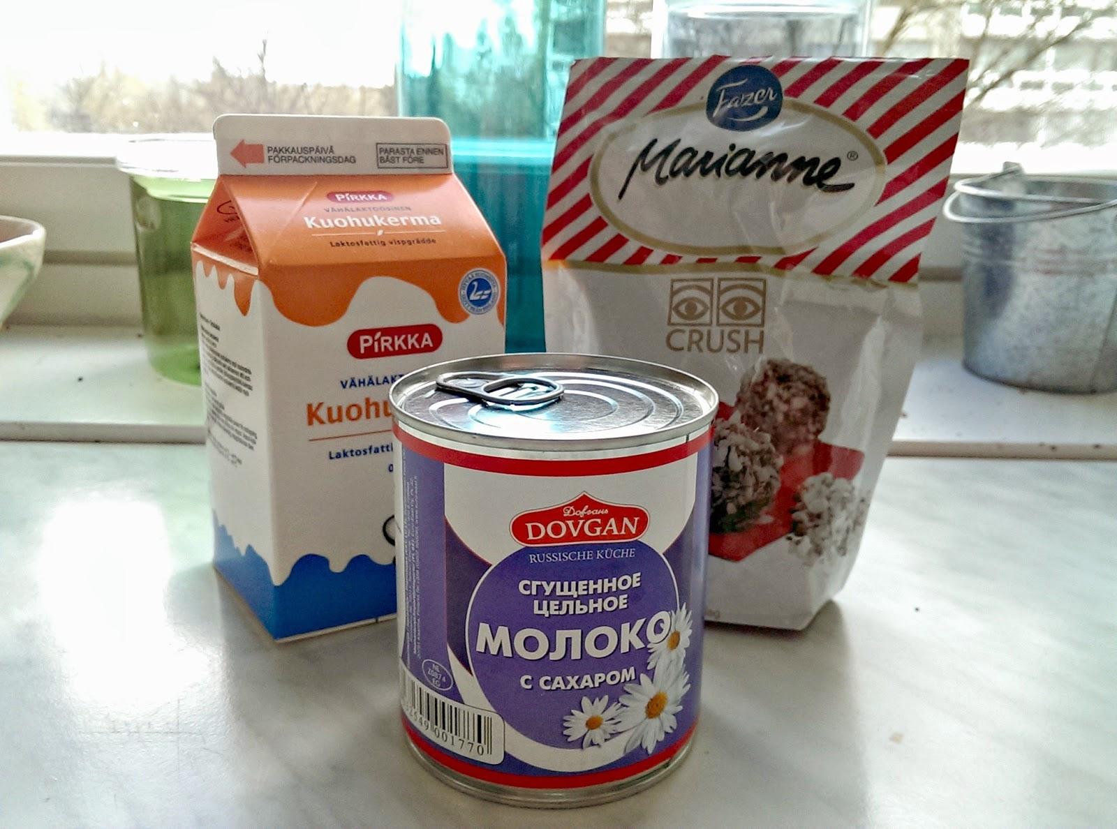 Kondensoitu Maito Jäätelö