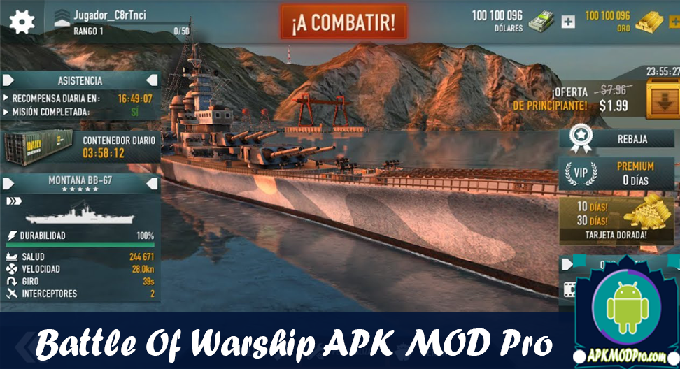 Download Battle of Warships: Naval Blitz MOD APK v1.71.4 (Gold/Unlocked) Terbaru 2020