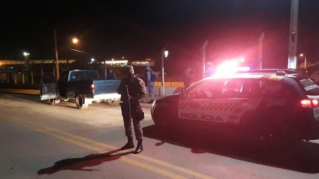 PM realizou operação em bairros com maiores índices de homicídios em Nobres