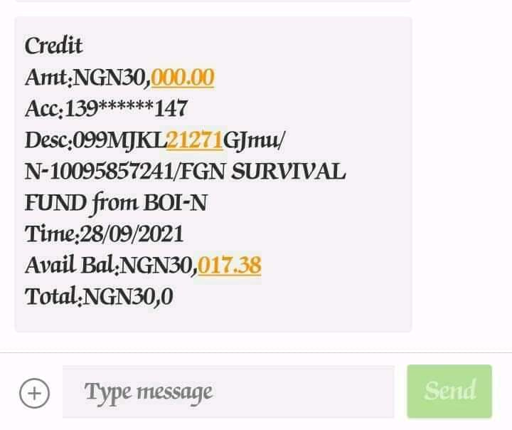 Survival Fund: An Ci Gaba Da Turawa Mutane 30,000 Na Kudin Tallafin Survival Fund(Asusun tsira) Yau