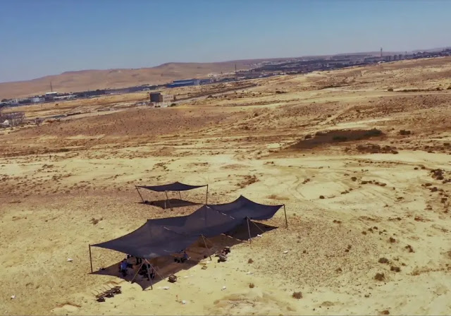 Prehistoric migration route from Africa discovered in the Negev desert