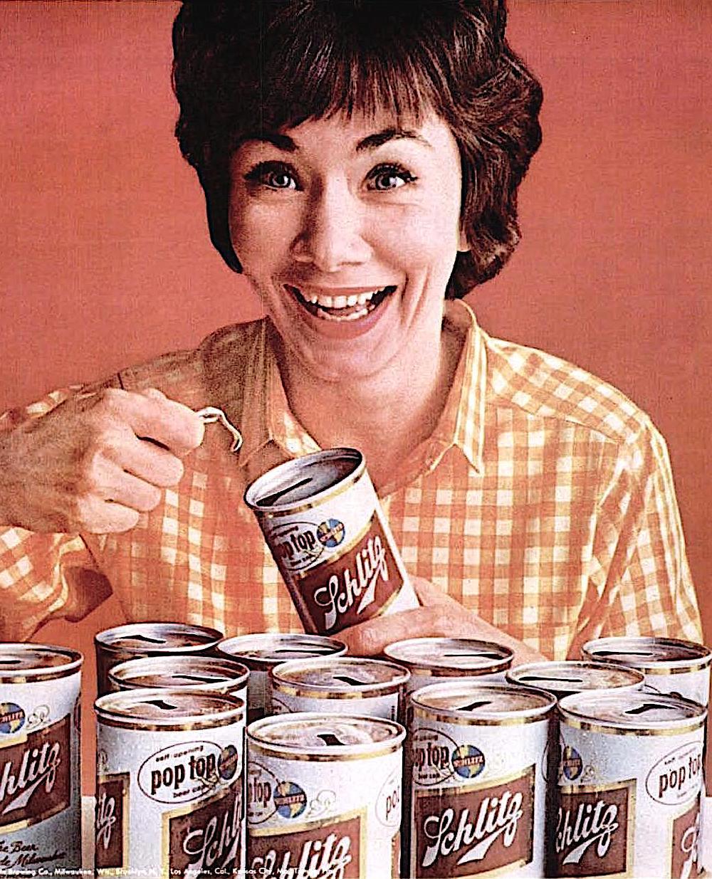 1963 Schlitz beer