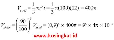 kunci jawaban matematika kelas 9 halaman 58 - 62 uji kompetensi 1
