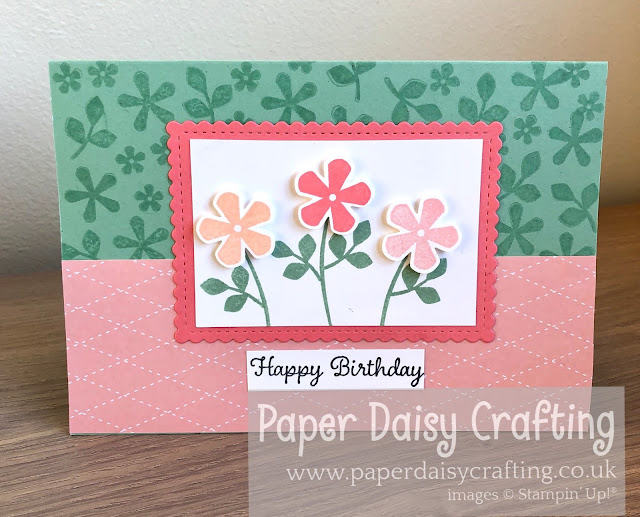 Thoughtful Blooms Small Bloom punch Stampin Up