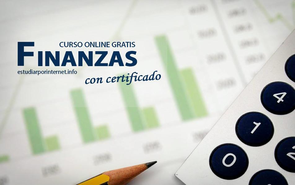 curso online gratis y certificado de finanzas estudiar por internetcurso online gratis y certificado de finanzas