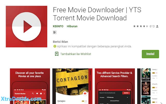 Aplikasi Free Movie Downloader
