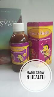 Madu Grow N Health: suplemen anak sahabat para ibu