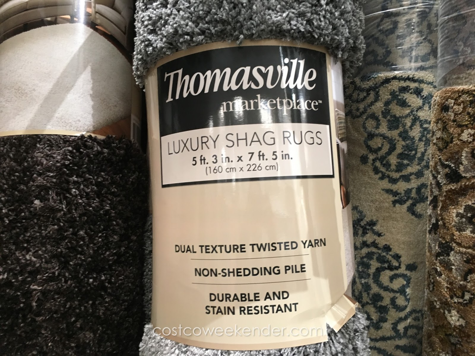 Thomasville Marketplace Luxury Shag Rug Costco Weekender