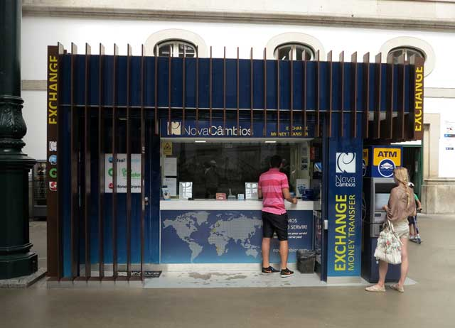 Currency Exchange (Cambio) in Portugal