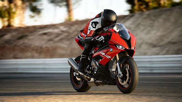2020 BMW S1000RR Racing Red